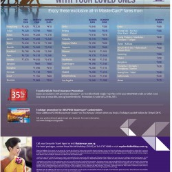 Exclusive All-in fare with Mastercard @ Thai Airways