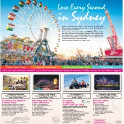 Love Every Second in Sydney travel special @ Chan Brothers