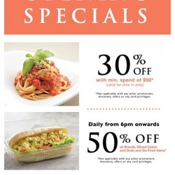 Bakerzin up to 50% off opening specials @ Farrer Park outlet