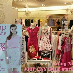 50% OFF selected items  @ JOOP