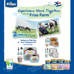 Friso gift with purchase @ Cold Storage