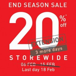 Extended End Season Sale 20% off storewide @ Running Lab