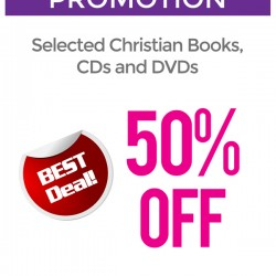 50% off selected Christian items @ Precious Thots