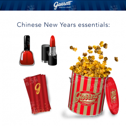 Chinese New Year Promotion @ Garrett Popcorn Shops