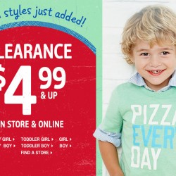 Clearance sales @OshKosh B'Gosh
