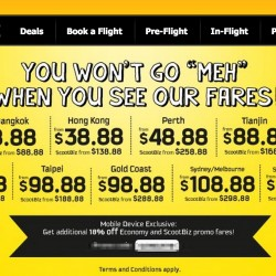 Scoot Chinese New Year 2015 Sale