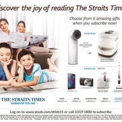 Gift for Strait Times Subscription