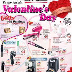 Valentines Day Promotion 2015 @ Harvey Norman