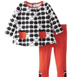 Offspring - Baby Apparel Baby Infant Apples Tunic and Legging Set @ Amazon