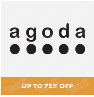 #GOSF up to 75% off hotel booking @ Agoda.com