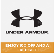 #GOSF 10% off and gift with purchase @ UnderArmour