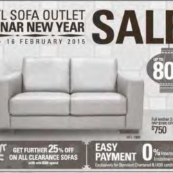 Lunar New Year Sale @ HTL Sofa outlet