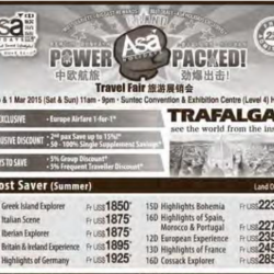 Power Packed travel fair @ ASA Holidays