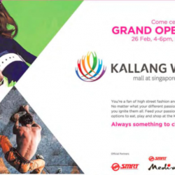 Kallang Wave mall grand opening special