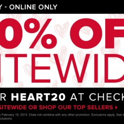 Sitewide sales@GNC USA