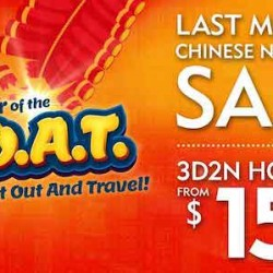 Last Minute Chinese New Year Deal @ Expedia