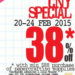 38% OFF CNY Special @ PaperMarket