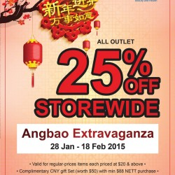 25% OFF Storewide Angbao Extravaganza @ Somang