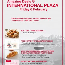 AMAZING deals at Swissbake International Plaza