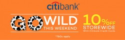Lazada Weekend 10% off storewide with Citibank Credit Cards