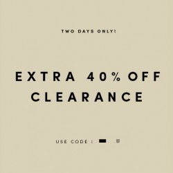 Extra 40% Off Clearance @ Cole Haan USA