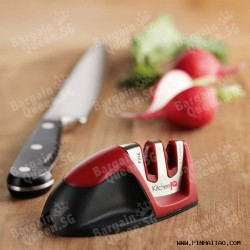 KitchenIQ 50009 Edge Grip 2 Stage Knife Sharpener @Amazon.com