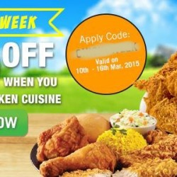 $10 off chicken cuisine @ RoomService.sg