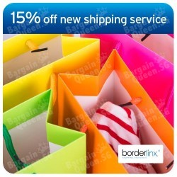 15% off Economy shipping service by Borderlinx with Citibank Cards