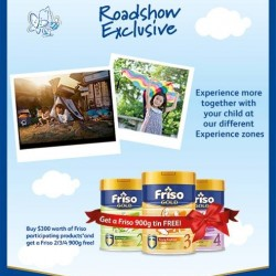 Friso roadshow special @ Clementi Mall