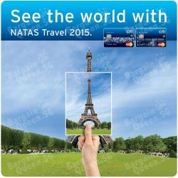 Exclusive travel deals + free goodies @ NATAS Travel 2015 with Citibank Cards