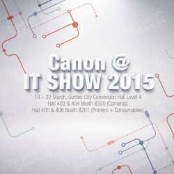 Canon @ IT SHOW 2015