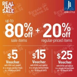 Real Hot Sale Cardmembers' Exclusives @ John Little