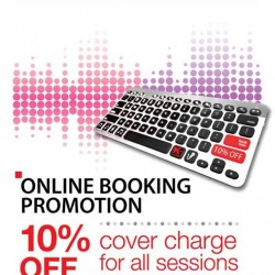 10% off online booking promotion @ K Box Karaoke