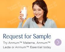 Free Trial Samples + Free Delivery to Your Doorstep @ Anmum