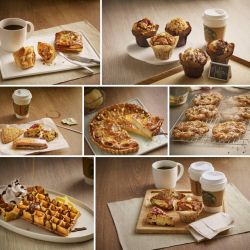 $1 off food item with any handcrafted beverage purchase @ Starbucks
