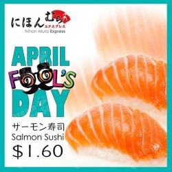 April Fool's Day Promotion @ Nihon Mura