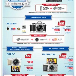 March promotion @ Olympus