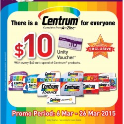 Exclusive Centrum promotion @ Unity