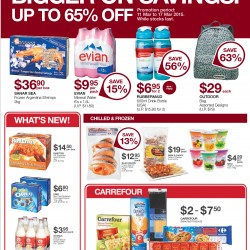 Bigger on savings up to 65% off @ Warehouse Club