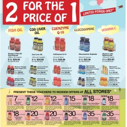 2 for the price of 1 limited period promotion @ Holland & Barrett