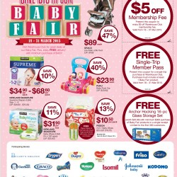 Save big Baby fair @ Warehouse Club