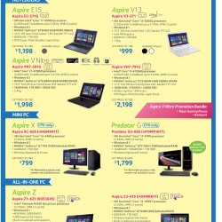 Acer Best tech deals @ IT SHOW 2015