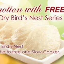 FREE Slow Cooker with purchase @ Lo Hong Ka