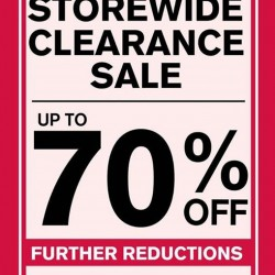 Up to 70% off storewide clearance sale @ Hush Puppies