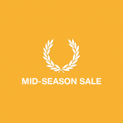 Fred Perry Mid-Season Sale: Up to 20% Off