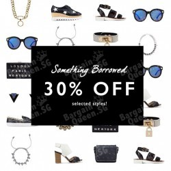 24 hour sale on accessories from Something Borrowed @ Zalora
