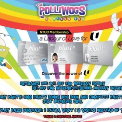 NTUC member special @ The Polliwogs