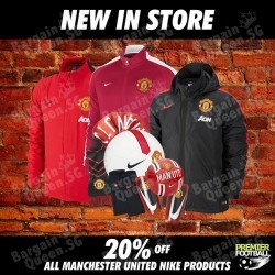 20% off All new Manchester United 2014/2015 products @ Premier Football