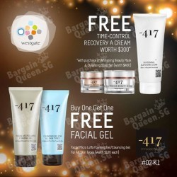 Promotions from -417 Dead Sea Cosmetics @ West Gate