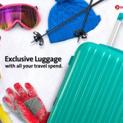 Free luggage with with travel spend charged to OCBC Card